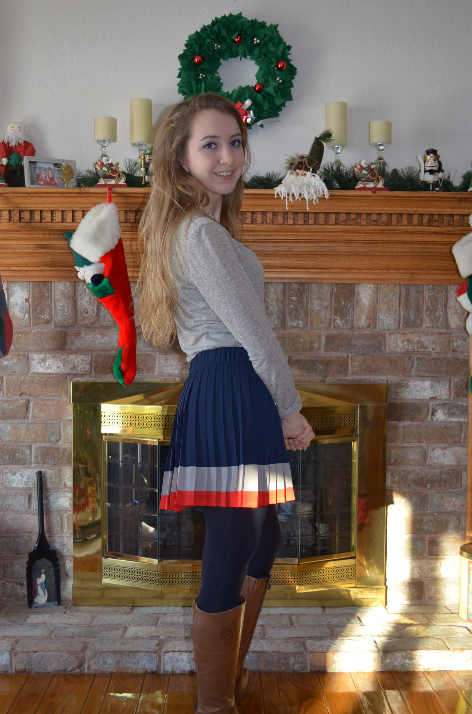 outfit of the day pleated skirt – mikella's closet