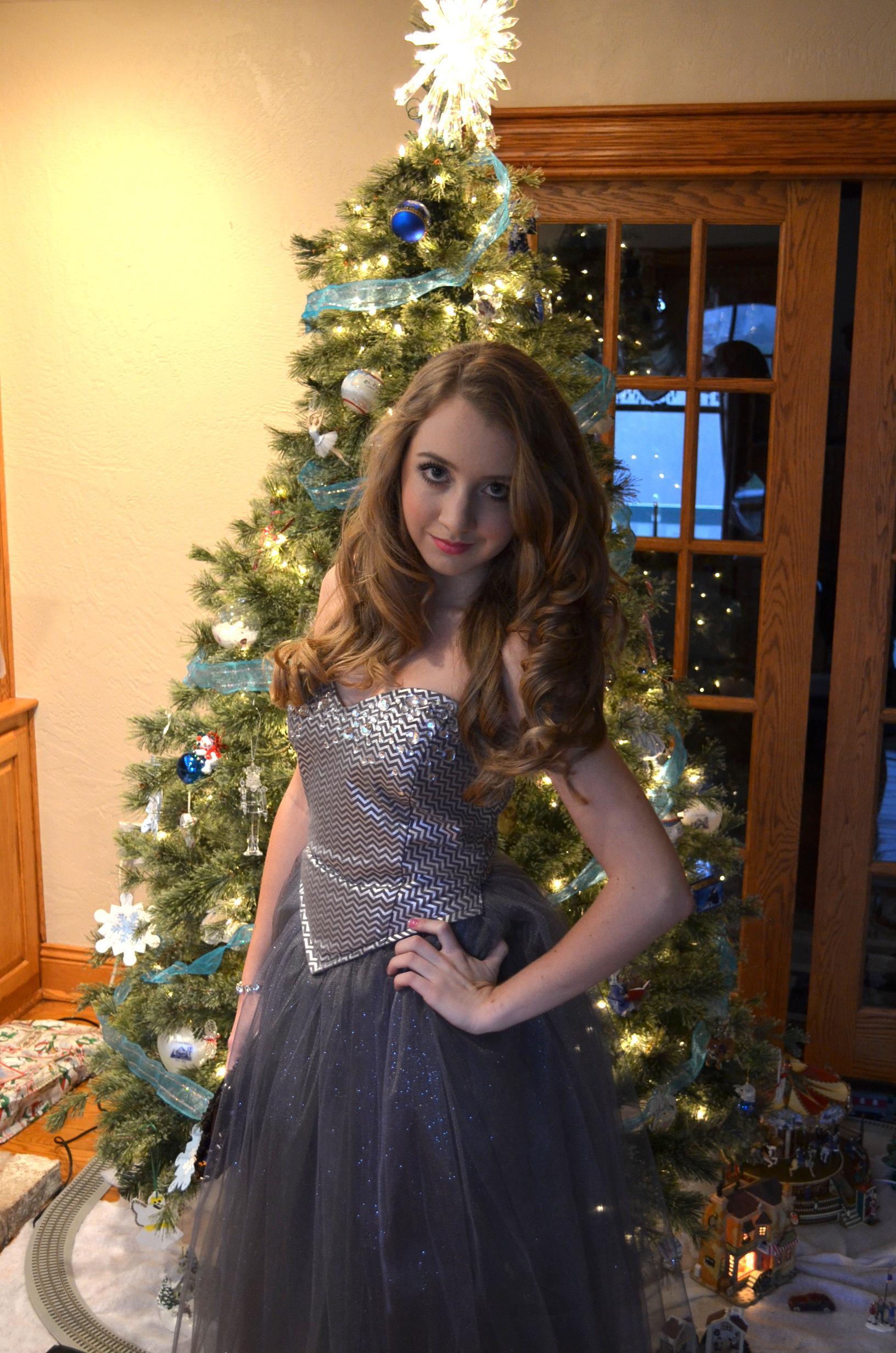 christmas dance dress tutu inspired dress
