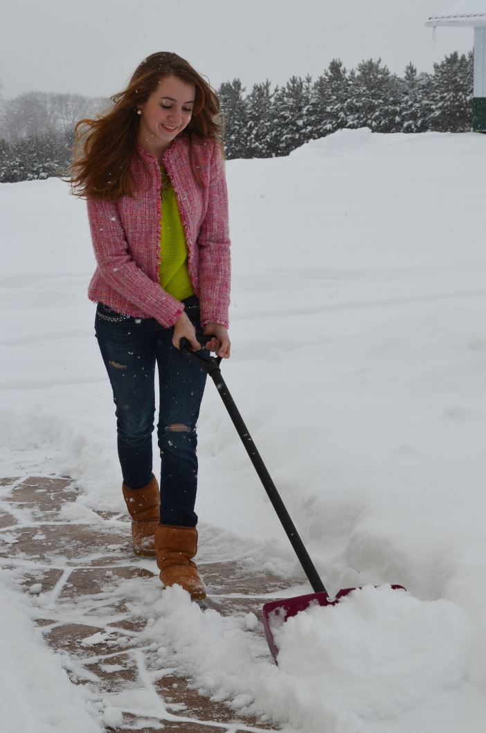 glam snow removal