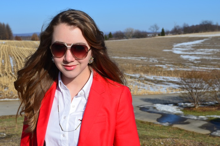 sunglasses and blazers