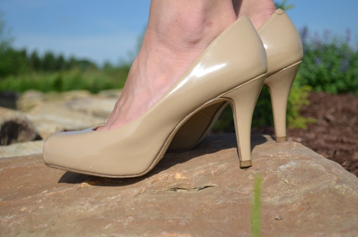 nude pumps
