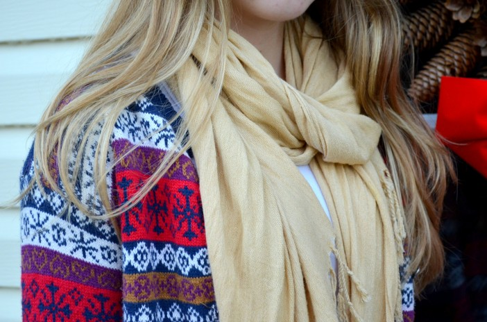 tan and fair isle